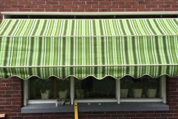 Markiezen opgehangen door Terpstra zonwering