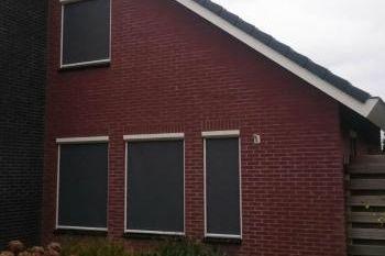 Zipscreens gemonteerd door Terpstra zonwering uit Groningen